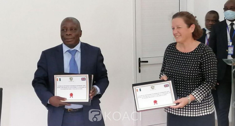 Côte d'Ivoire-Royaume-Uni : Signé à Londres, l'APEI présenté officiellement, ratification dans les prochains jours