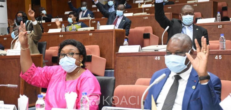 Côte d'Ivoire : Sénat, malgré le boycott des sénateurs du groupe parlementaire PDCI-RDA trois projets de lois votés en plénière