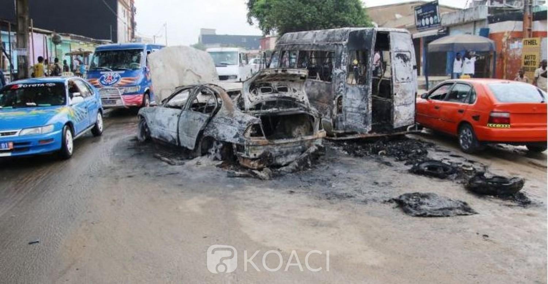 Côte d'Ivoire : Attaques contre   des véhicules à Yopougon,  la police sur les traces d'une dizaine de suspects