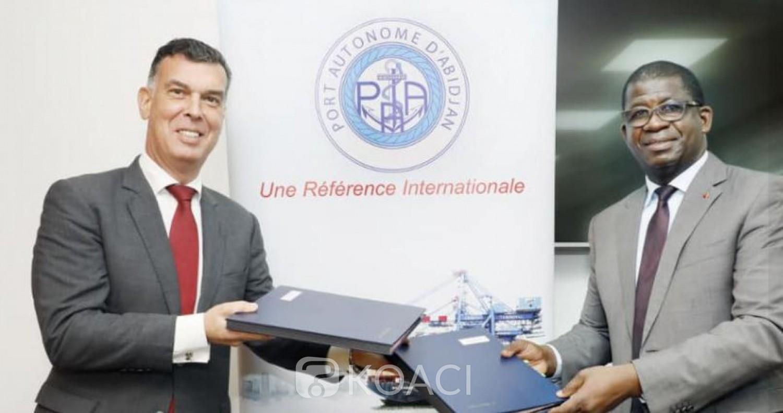 Côte d'Ivoire : Signature du procès-verbal de la convention de concession du deuxième terminal à conteneurs d'Abidjan (TC2)