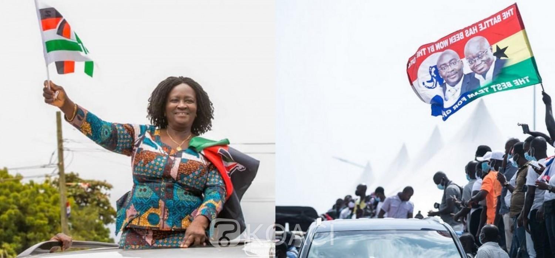 Ghana :  Fin de campagnes, élections d'un nouveau Président ce 07 décembre