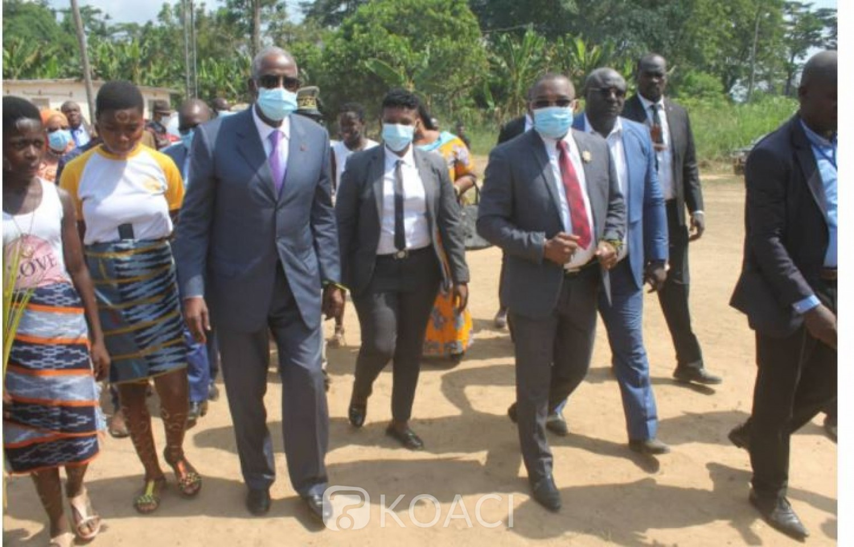 Côte d'Ivoire : En mission d'apaisement dans la Guémon, le Médiateur de la Republique assène ses vérités aux jeunes