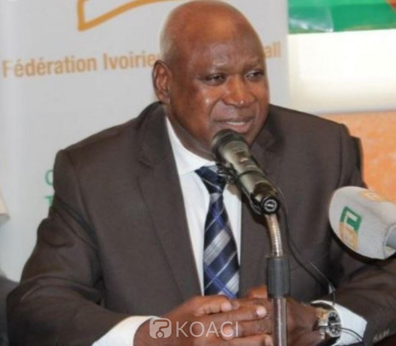 Côte d'Ivoire : Conformément au statut de la FIF, Dehoulé Omer va assurer l'intérim de feu Sidy Diallo