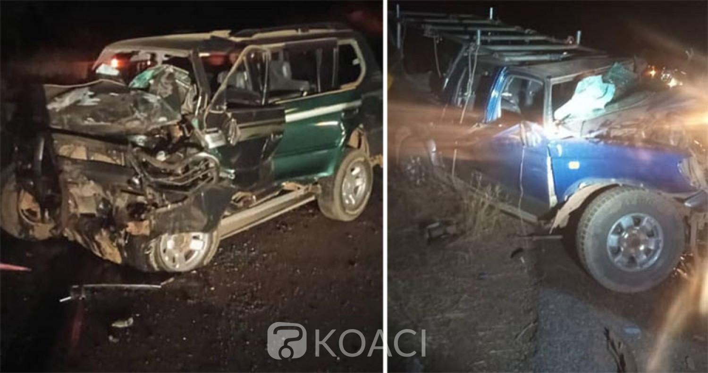 Burkina Faso : Deux morts dans une collision entre deux véhicules de tourisme