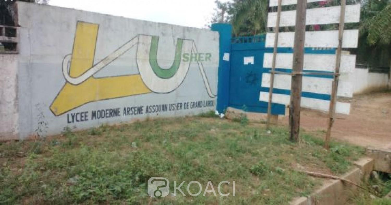 Côte d'Ivoire : Empêchés d'anticiper sur les congés de Noel à Grand Lahou, des élèves saccagent leur  Lycée