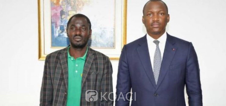 Côte d'Ivoire : Les promesses de Mamadou Touré à l'entrepreneur ayant tout perdu lors récentes violences post-électorales, raison de sa marche de Boundiali à Abidjan