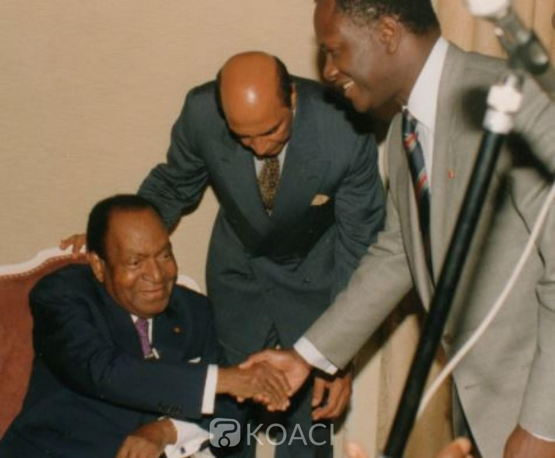 Côte d'Ivoire : 27e anniversaire du décès d'Houphouët, Ouattara exhorte chaque ivoirien à s'approprier les valeurs qu'il a léguées