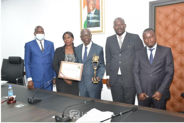 Côte d'Ivoire : Le DG des Impôts, Ouattara Sié Abou lauréat de la deuxième édition du « Sawa » du développement social