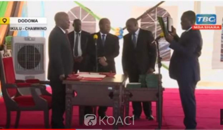Tanzanie : Un vice-ministre perd ses mots en pleine prestation de serment et se fait virer