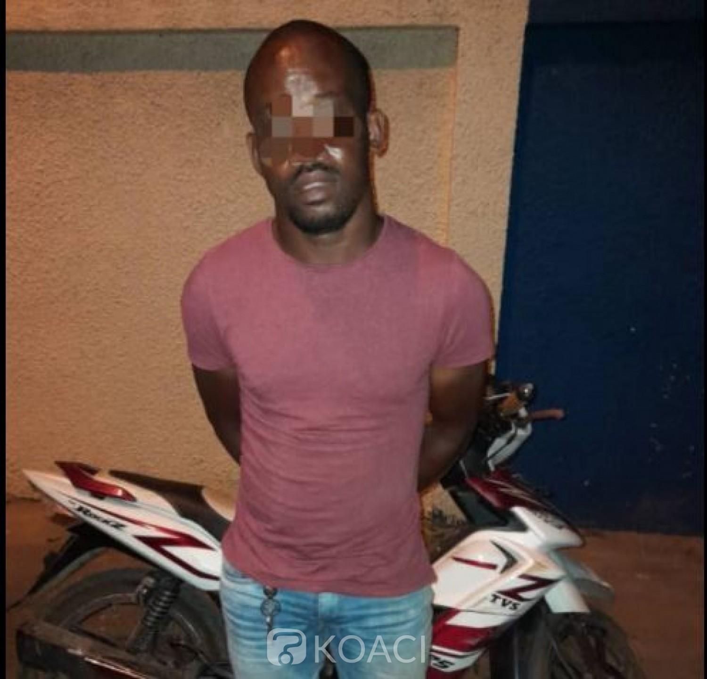 Côte d'Ivoire : Fin de parcours pour un  spécialiste présumé de vol à roulotte dans le District d'Abidjan