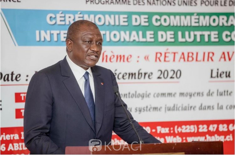 Côte d'Ivoire : Hamed Bakayoko : « Tout le monde est prêt à chanter les louanges de la Bonne gouvernance mais personne n'est prêt à accepter la rigueur de la loi »