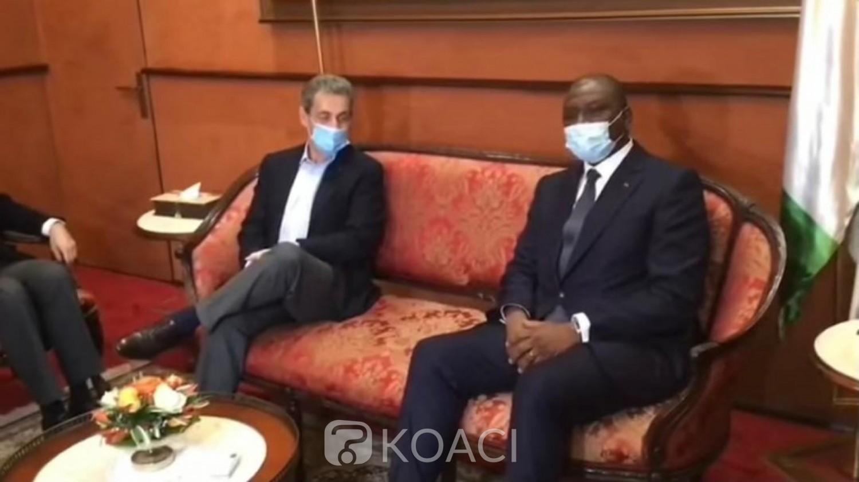 Côte d'Ivoire-France : Englué dans les affaires judiciaires, Nicolas Sarkozy s'offre une respiration ivoirienne