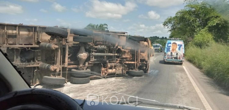 Côte d'Ivoire : Drame à Man, le chauffeur d'un gros camion percute violemment trois gamins et tue deux sur place