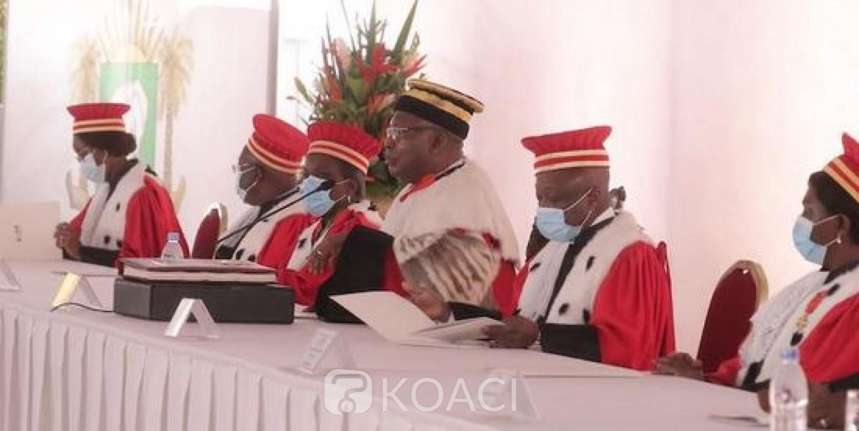 Côte d'Ivoire : Discours à l'investiture de Ouattara, le président du Conseil Constitutionnel a-t-il vraiment dérapé ?