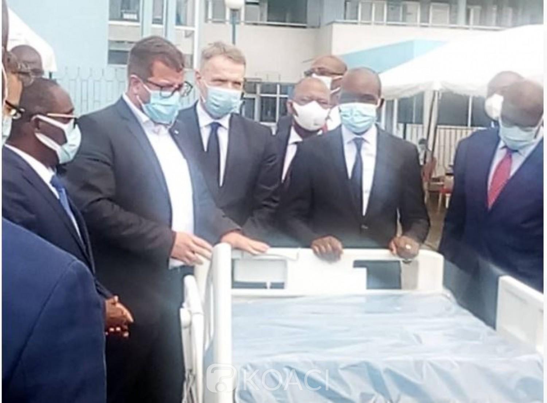 Côte d'Ivoire : Recevant un don de  la République Tchèque, Aka Aouélé revèle que le chef de l'Etat a validé un plan d'urgence d'Abidjan dont la réhabilitation  du CHU de Treichville
