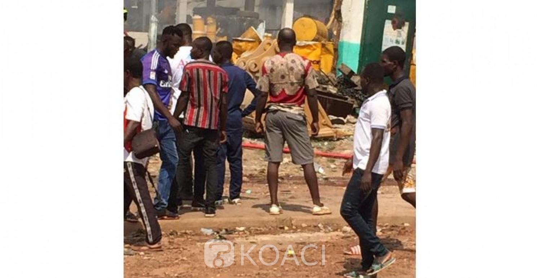 Côte d'Ivoire : Yamoussoukro, forte explosion dans une usine chinoise située au quartier 220 logements, des blessés
