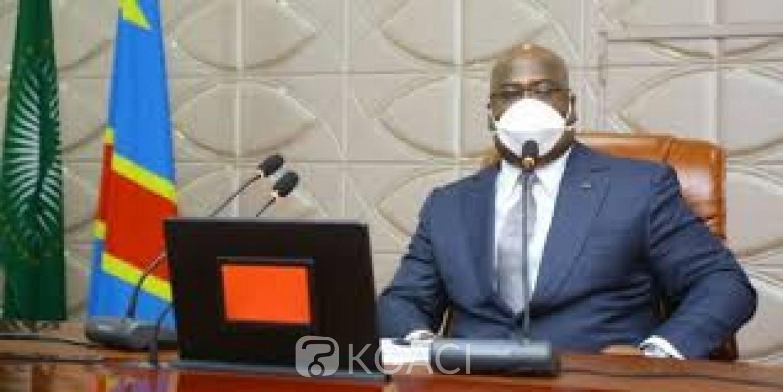 RDC : Face à une explosion de cas de Covid-19, Félix Tshisekedi décrète un couvre -feu