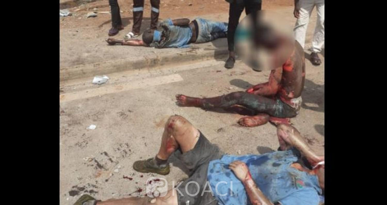 Côte d'Ivoire : Explosion meurtrière à Yamoussoukro, bilan, 12 victimes dont un décès brûlé vif
