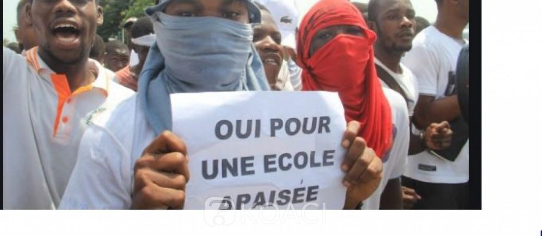 Côte d'Ivoire : La FESCI accuse le Ministère de l'éducation nationale de « saboter » ses actions de sensibilisation contre les congés anticipés