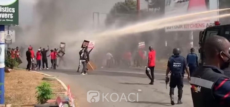 Ghana :  Contestations électorales, 26 manifestants du NDC arrêtés à Accra