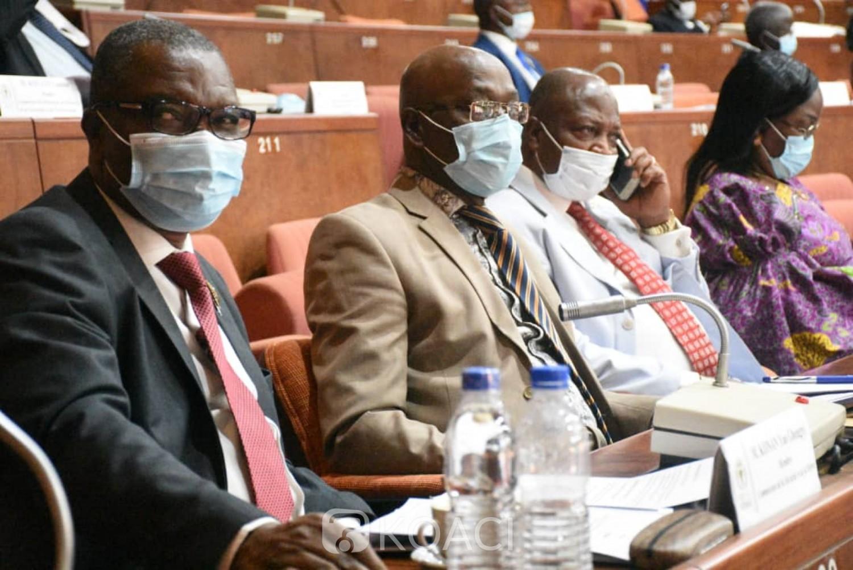 Côte d'Ivoire :   Le budget 2021 voté par les sénateurs, le groupe parlementaire RHDP fait des recommandations pour sa perfection