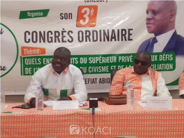 Côte d'Ivoire : Enseignement supérieur privé, Bomisso Jean-Marc prend les rênes du principal syndicat des enseignants, la  CNESUP