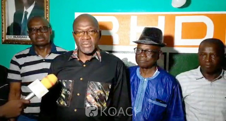 Côte d'Ivoire Rififi au sein du RHDP Gôh, certains délégués départementaux réaffirment leur soutien à Djédjé Bagnon