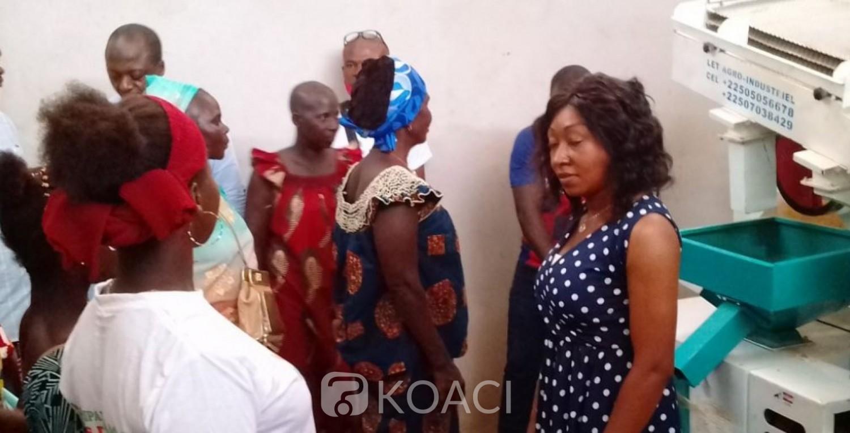 Côte d'Ivoire : Pour l'autonomisation des femmes, le projet usifem lancé à Diabo