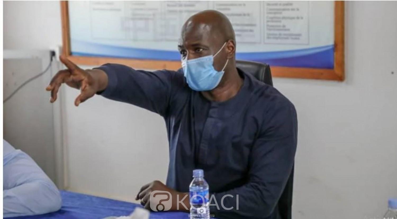 Côte d'Ivoire : CAN 2023, après une visite d'inspection de la CAF, Anthony Baffoé : « Nous sommes contents de ce que l'on a vu »