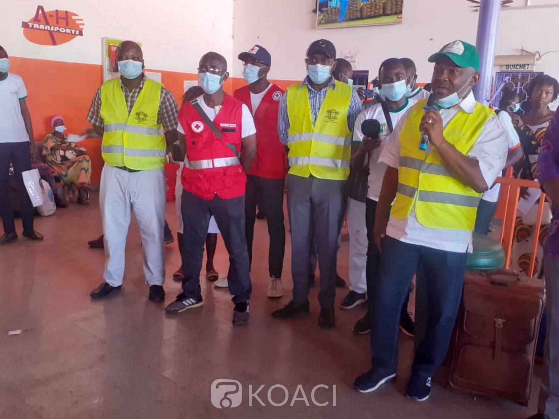 Côte d'Ivoire : Bouaké, à la veille des fêtes, des compagnies de transport sensibilisées sur la sécurité routière