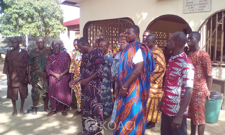 Côte d'Ivoire : Sakassou, pour le règlement définitif du conflit électoral, « la reine attendue pour les solutions finales...»