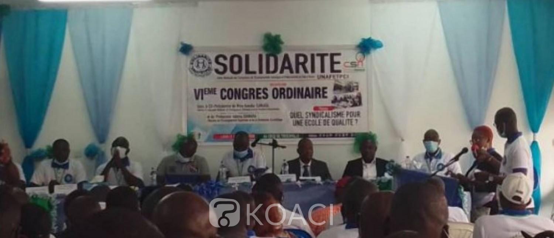 Côte d'Ivoire : Enseignement technique et professionnel, le syndicat « Solidarité » se dote d'un bureau de contrôle et de surveillance