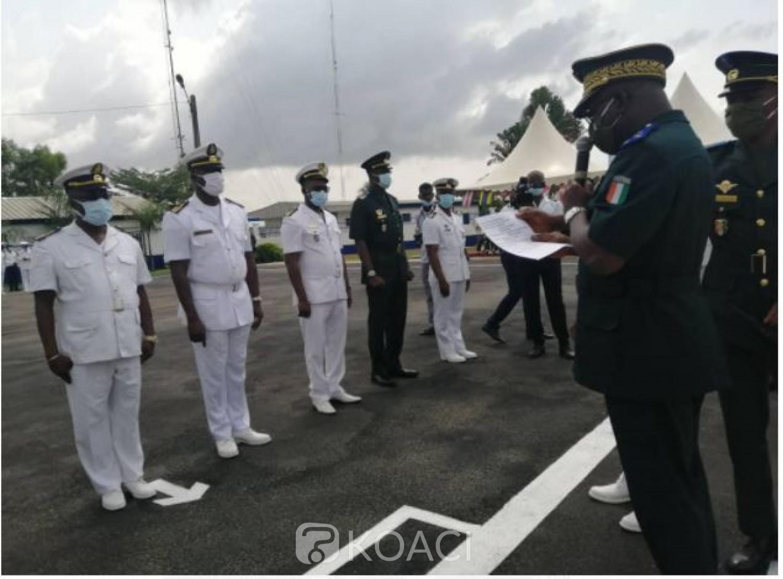 Côte d'Ivoire : « FAREWELL » édition 2020, 21 Marins admis en retraite mais les  portes leur restent ouvertes