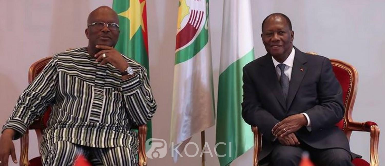 Côte d'Ivoire-Burkina : Investiture de Kaboré, Alassane Ouattara s'envole pour un aller-retour à Ouagadougou
