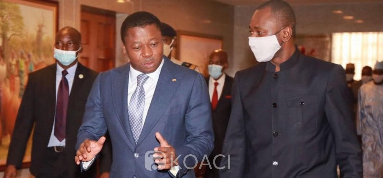 Togo-Mali : Le Colonel Assimi Goita porteur d'un message au Président Gnassingbé