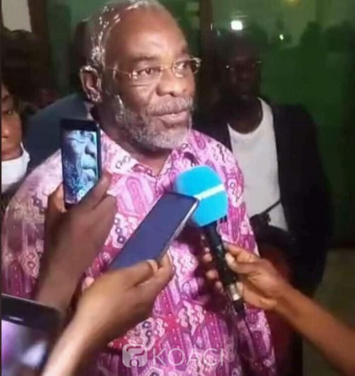 Côte d'Ivoire : Après sa libération sous contrôle judiciaire, voici les premiers mots de Pascal Affi N'Guessan
