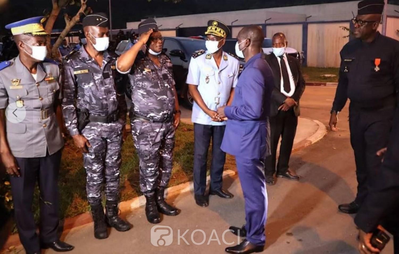 Côte d'Ivoire : Avant le réveillon du nouvel an, le Ministre Diomandé Vagondo en tournée de mobilisation pour s'enquérir des dispositifs sécuritaires