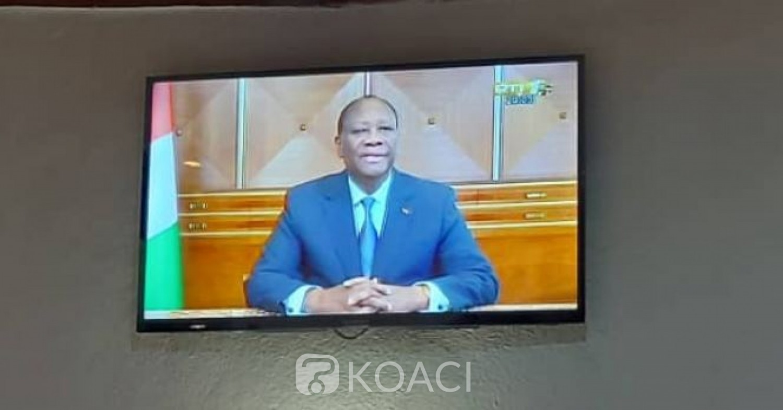 Côte d'Ivoire : Alassane Ouattara promet une année 2021 de développement des infrastructures routières