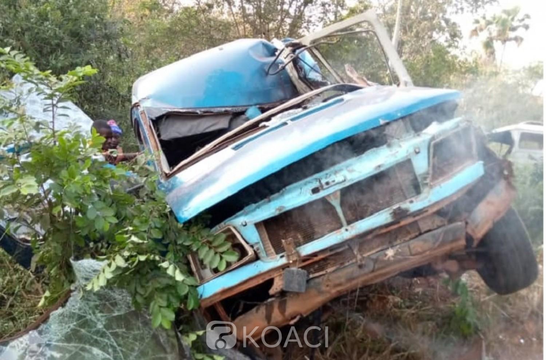 Côte d'Ivoire : Koun -fao, tragique Saint-Sylvestre, 09 personnes périssent dans un accident de circulation impliquant un mini car et un camion