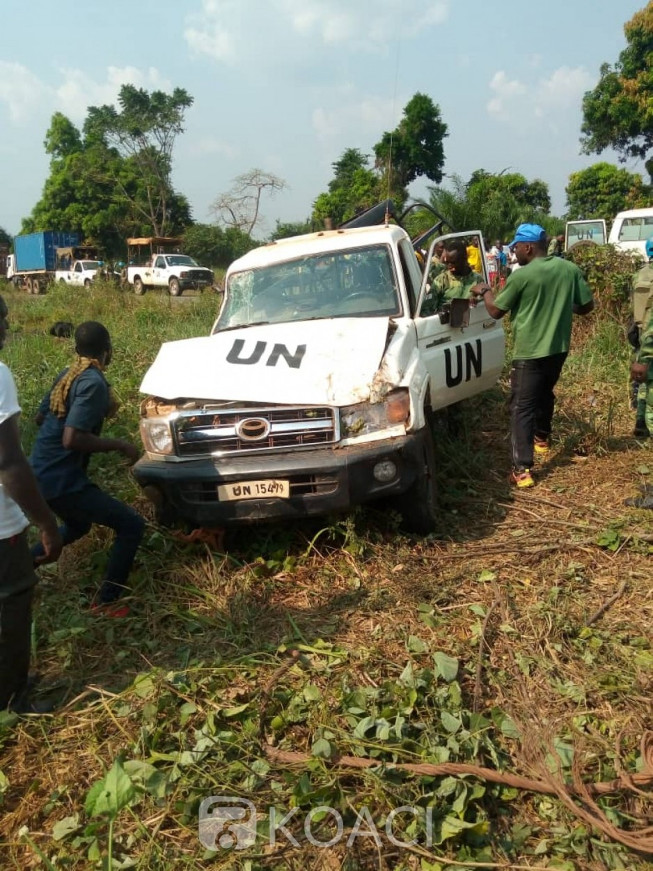 Cameroun : Un casque bleu camerounais de la Minusca meurt dans un accident de la route en Centrafrique