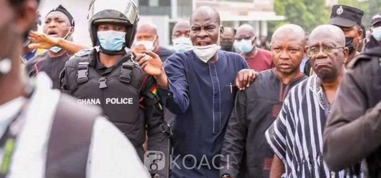 Ghana : Contestation électorale, 20 députés du NDC refusent une convocation de la police au tribunal