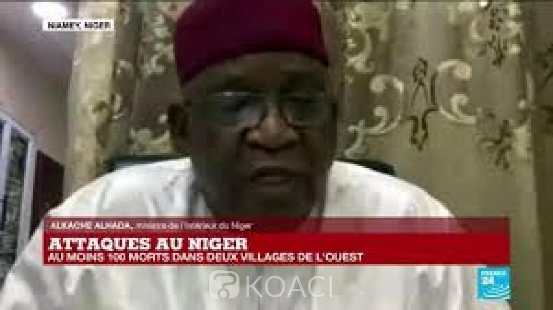 Niger : Deuil national de 3 jours décrété après le massacre de villageois  dans l' ouest