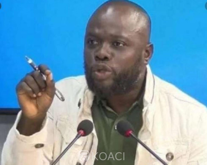Côte d'Ivoire : 04 mois après son arrestation, la défense de Justin Koua introduit une demande pour  sa liberté provisoire
