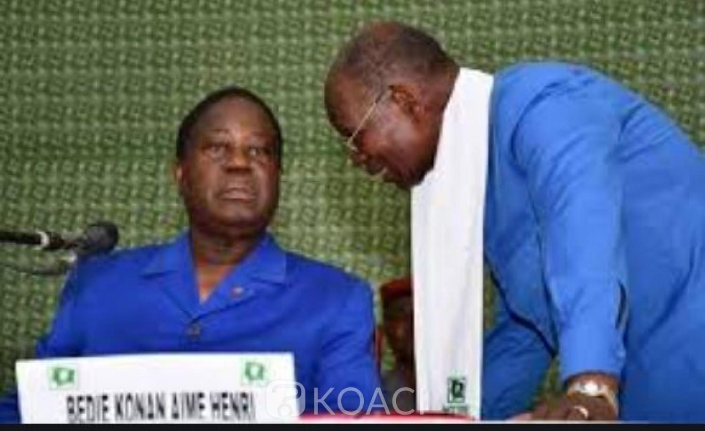 Côte d'Ivoire : Choix des candidats du PDCI pour les Législatives, Bombet préside le comité électoral, voici les critères définis  par Bédié