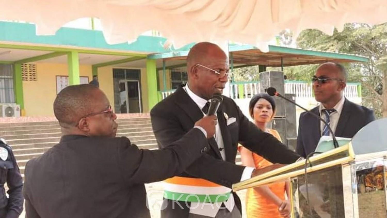 Côte d'Ivoire : Rumeurs  de destruction du grand marché de Sikensi, réaction du Maire  N'Gata Brié Joseph