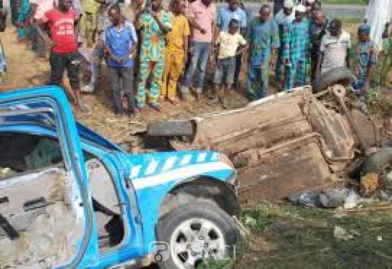 Nigeria : 06 morts et 09 blessés dans une collision sur une route Lagos-Ibadan