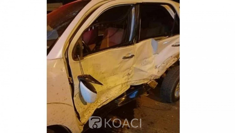 Côte d'Ivoire : Bouaké, le préfet de police, perd connaissance dans un accident impliquant son véhicule et celui des Faci