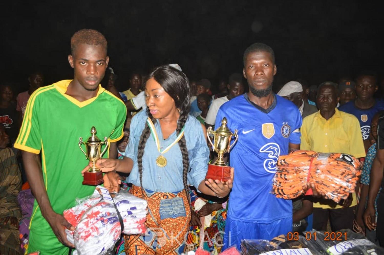 Côte d'Ivoire : Botro, pour la cohésion et la fraternité dans le département, un tournoi organisé entre des communautés