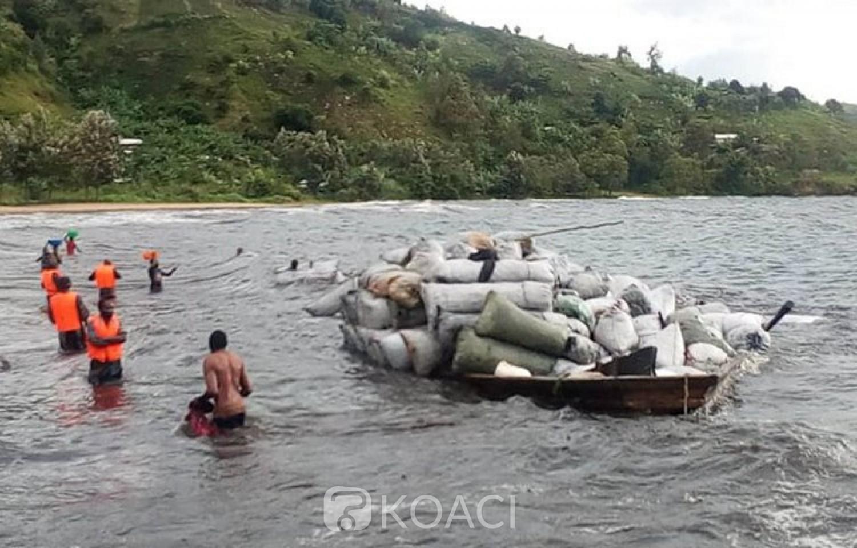 RDC : Une pirogue surchargée chavire sur le Lac Kivu, 03 morts et 41 disparus au moins