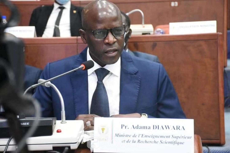 Côte d'Ivoire : Adama Diawara lance le Programme mastère professionnel gestion des infrastructures routières et annonce le début des inscriptions des candidatures en ligne
